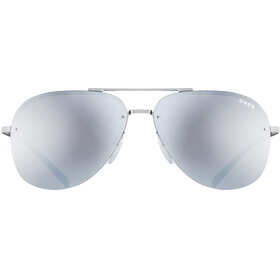 UVEX LGL 40 Lunettes, silver mat/mirror silver
